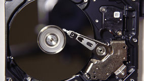 The device hard drive inside stock video footage