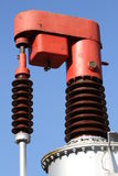Device for high-voltage electric transformer to vary the output Royalty Free Stock Photos