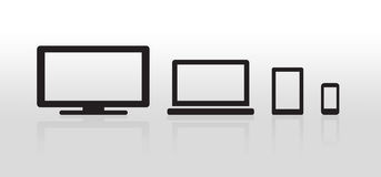 Device Icons Royalty Free Stock Images