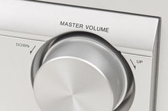 Device Master Volume. Close Up Royalty Free Stock Photos