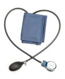 Device measuring blood pressure Royalty Free Stock Photography