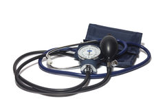A device for measuring blood pressure Stock Images