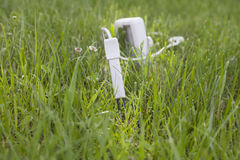 Device for measuring soil Royalty Free Stock Photography
