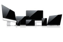Device set Stock Images