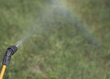 Device of spraying pesticide. Royalty Free Stock Photo