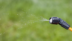 Device of spraying pesticide. Stock Photo