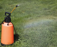 Device of spraying pesticide. Stock Image