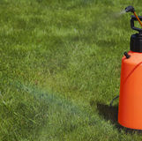 Device of spraying pesticide. Royalty Free Stock Images