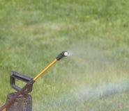 Device of spraying pesticide. Stock Photos