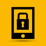 Device transfer cloud protection data Stock Photography