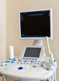 A device for ultrasound royalty free stock images