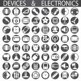 Devices and electronics Stock Image