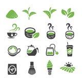 greentea icon set royalty free illustration
