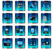 Devices icon set Stock Photography