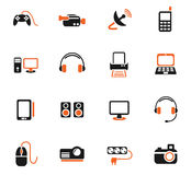 Devices icon set Royalty Free Stock Image