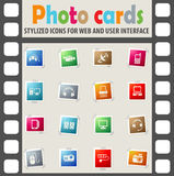 Devices icon set Royalty Free Stock Photography