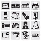 Devices icons set Royalty Free Stock Photos