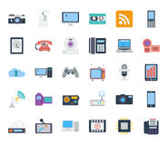 Devices icons Stock Image