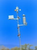 Devices meteorological station. Royalty Free Stock Image