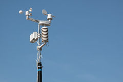 Devices meteorological station Royalty Free Stock Photos