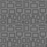 Devices seamless pattern Stock Photography