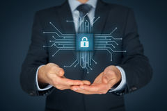IT devices security Royalty Free Stock Photo