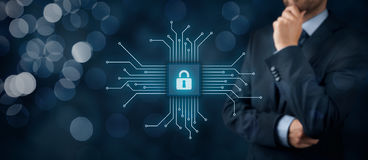 IT devices security Stock Photos