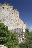Devicky城堡废墟  图库摄影