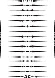 Deviders-Elementsatz Lizenzfreie Stockbilder