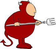 Devil stock illustration