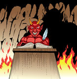 The Devil Stock Photo