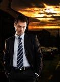 Devil. Evil Businessman - check my portfolio for morephotos Royalty Free Stock Photography
