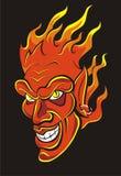 Devil. Vector illustration of red devil Stock Photos