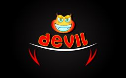 Devil Background Royalty Free Stock Photos