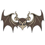 Devil Bat Character Royalty Free Stock Photos