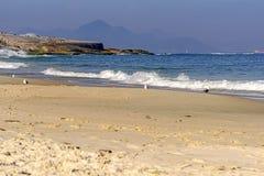Devil beach. In Ipanema, Rio de Janeiro Royalty Free Stock Photos