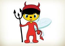 Devil Bee-halloween costume Stock Photography
