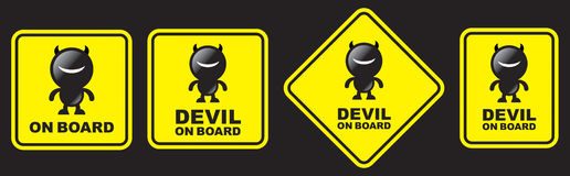 Devil board Royalty Free Stock Photography