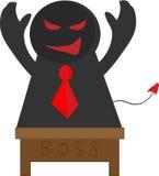 Devil boss Royalty Free Stock Image