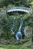 The devil bridge in the mountain park Wilhelmshoehe Stock Photography