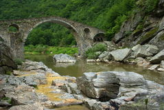 Devil bridge stock photography