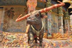 Devil Buffalo Statue Royalty Free Stock Image