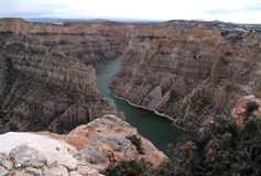 Devil Canyon Overlook at Bighorn Canyon Royalty Free Stock Photography