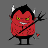 Devil cartoon vector Stock Photography