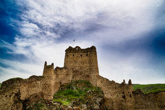 Devil Castle Panaroma in Kars Stock Photos