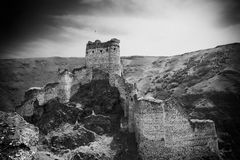 Devil Castle Panaroma in Kars Royalty Free Stock Photos