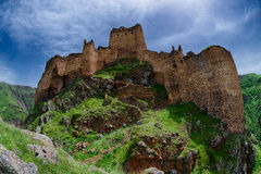 Devil Castle Panaroma in Kars Royalty Free Stock Photography