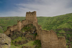 Devil Castle Panaroma in Kars Stock Image