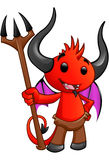 Devil Character - #4 Royalty Free Stock Images