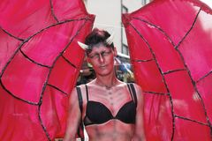 Devil - Christopher Street Day Stock Photography